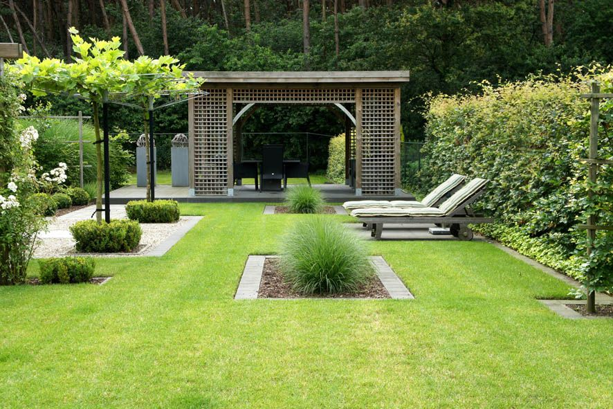 afbeeldingsresultaat voor grote moderne tuin tuinideeen pinterest gardens