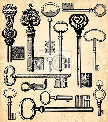 Tableau,Poster Fond clés