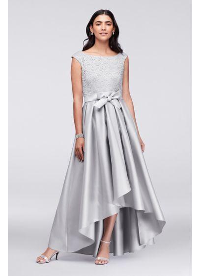 e7cd7b193f33e High Low Ballgown Cap Sleeves Formal Dresses Dress - Ignite