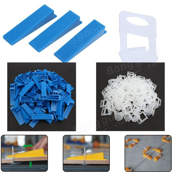 Tile Flat Leveling System Wall Floor Spacers Strap Device Tool 100pcs Clips 100pcs Wedge Sale Sold Out Banggood Mobile