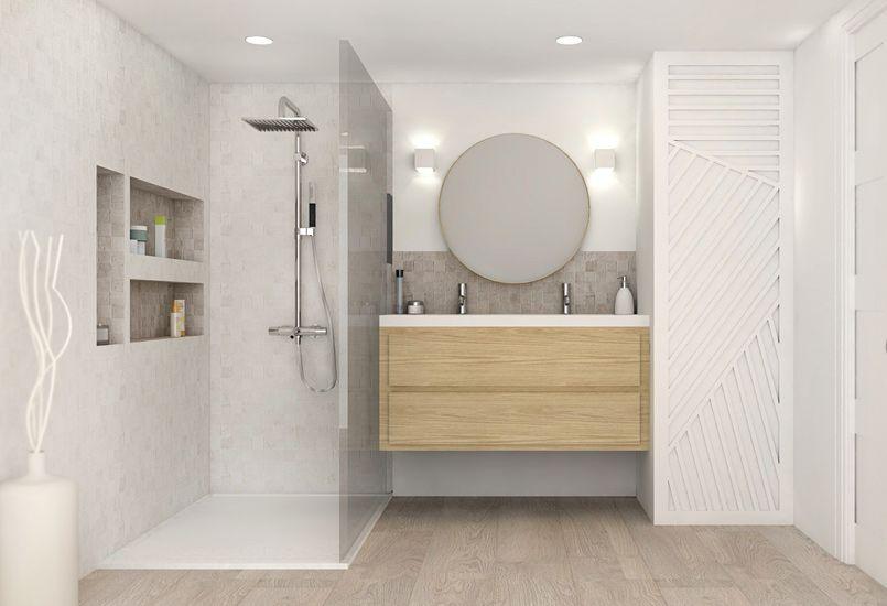 7 id es pour am nager une douche pratique et fonctionnelle - Volume d eau pour une douche ...