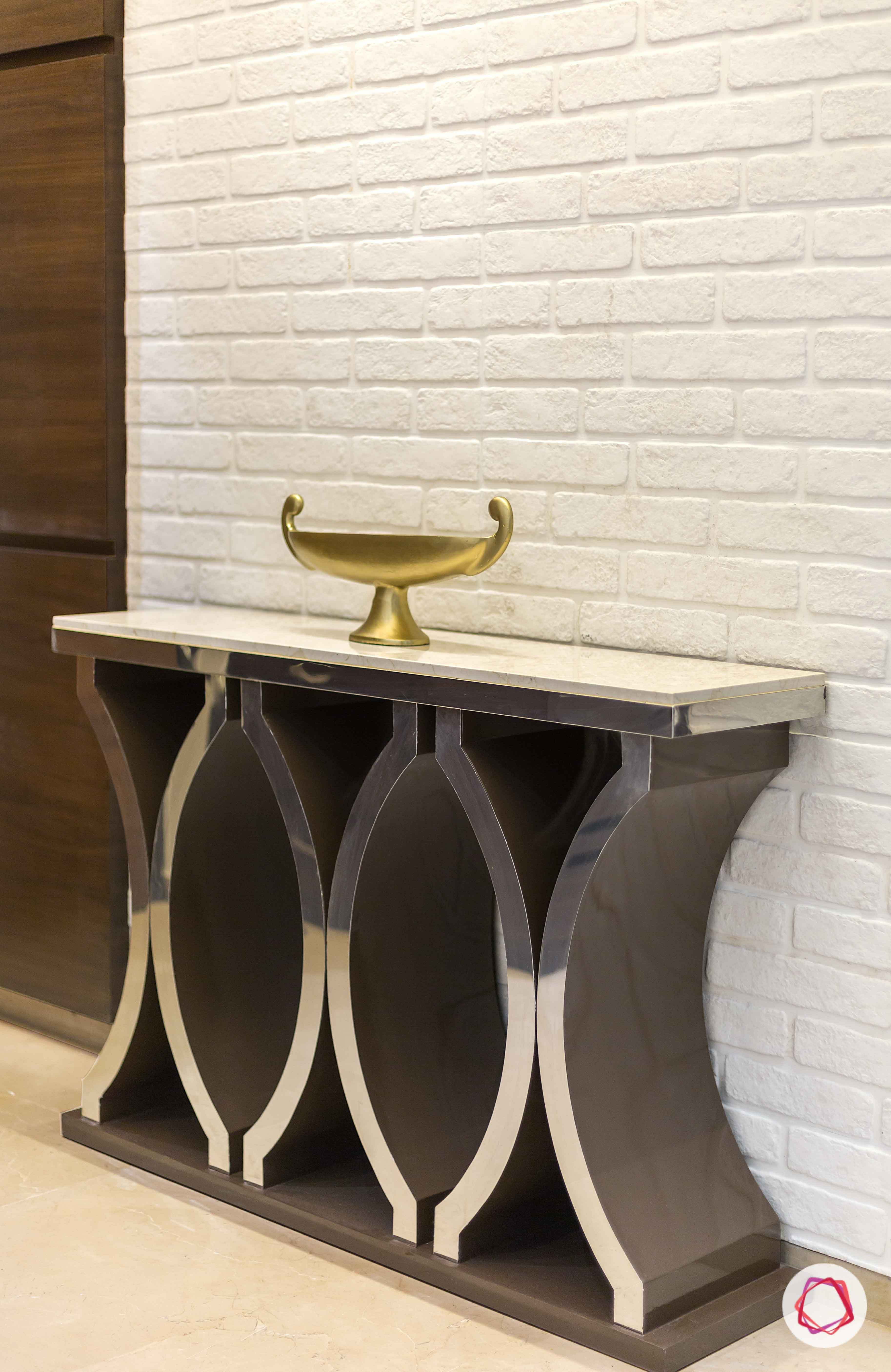 entryway foyer ideas invest in a statement console table india rh pinterest com