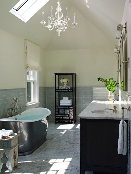 amazing master bathroom with cathedral ceiling pale yellow walls rh pinterest com