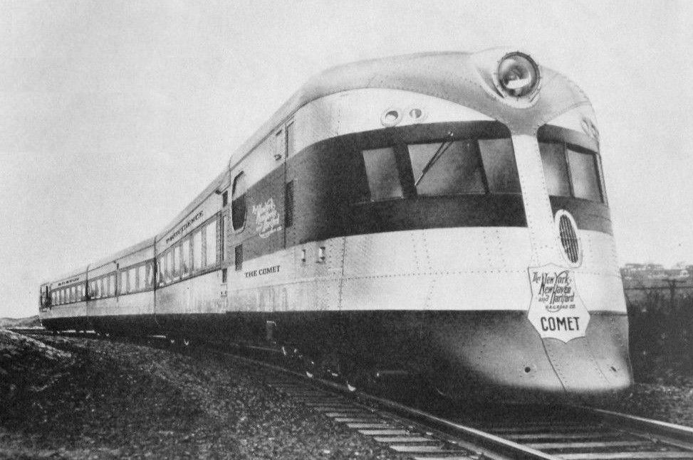 new haven comet 1935 new york new haven and hartford railroad rh pinterest com