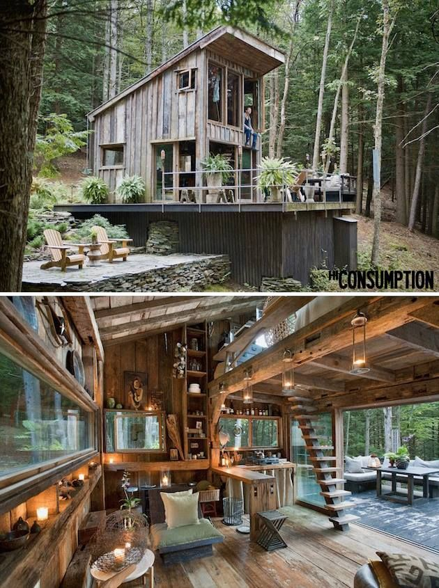 Off The Grid New York Cabin In The Woods Cabin And Woods