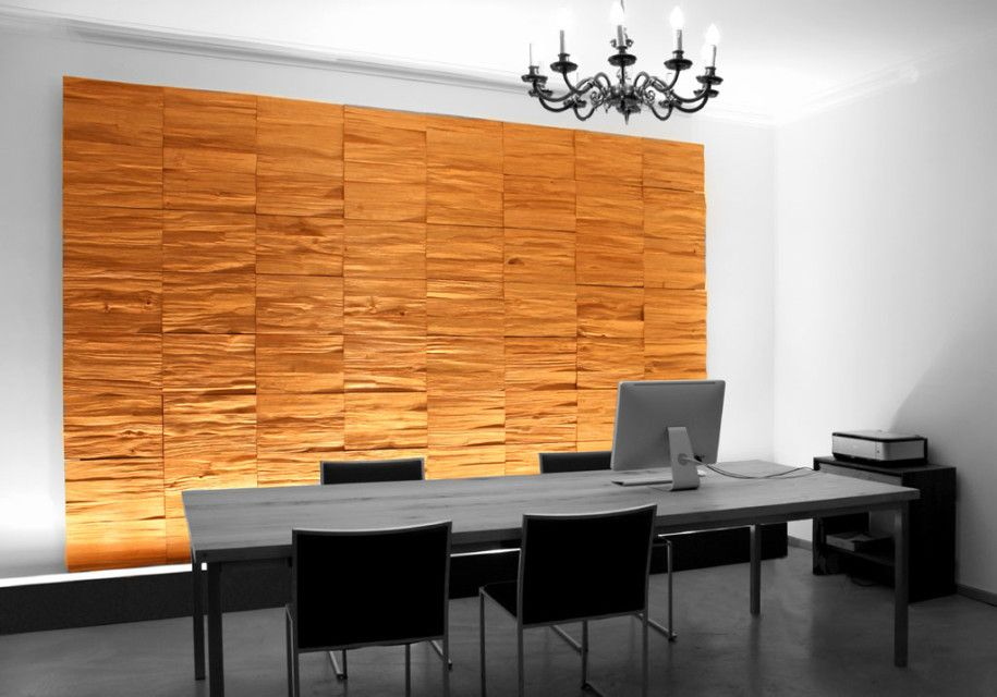 office wood paneling. Inspiring Wooden Panels To Decorate Your Walls By Klaus Wangen : Office Room Interior With White Wood Paneling G