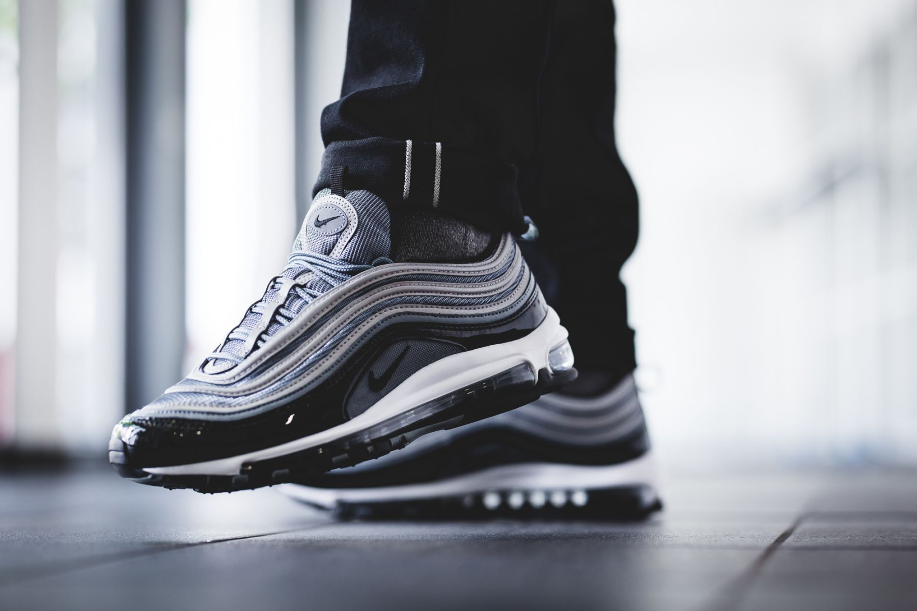 cheap for discount 51824 37395 97 Black Grey Trainers UK Air Max 97, Nike Air Max, Grey Trainers,