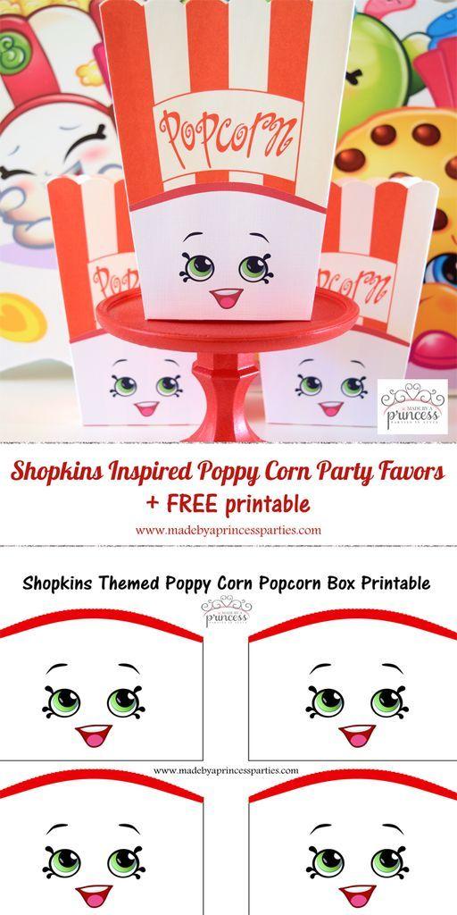 Shopkins Pin Series Poppy Corn Pin NEW
