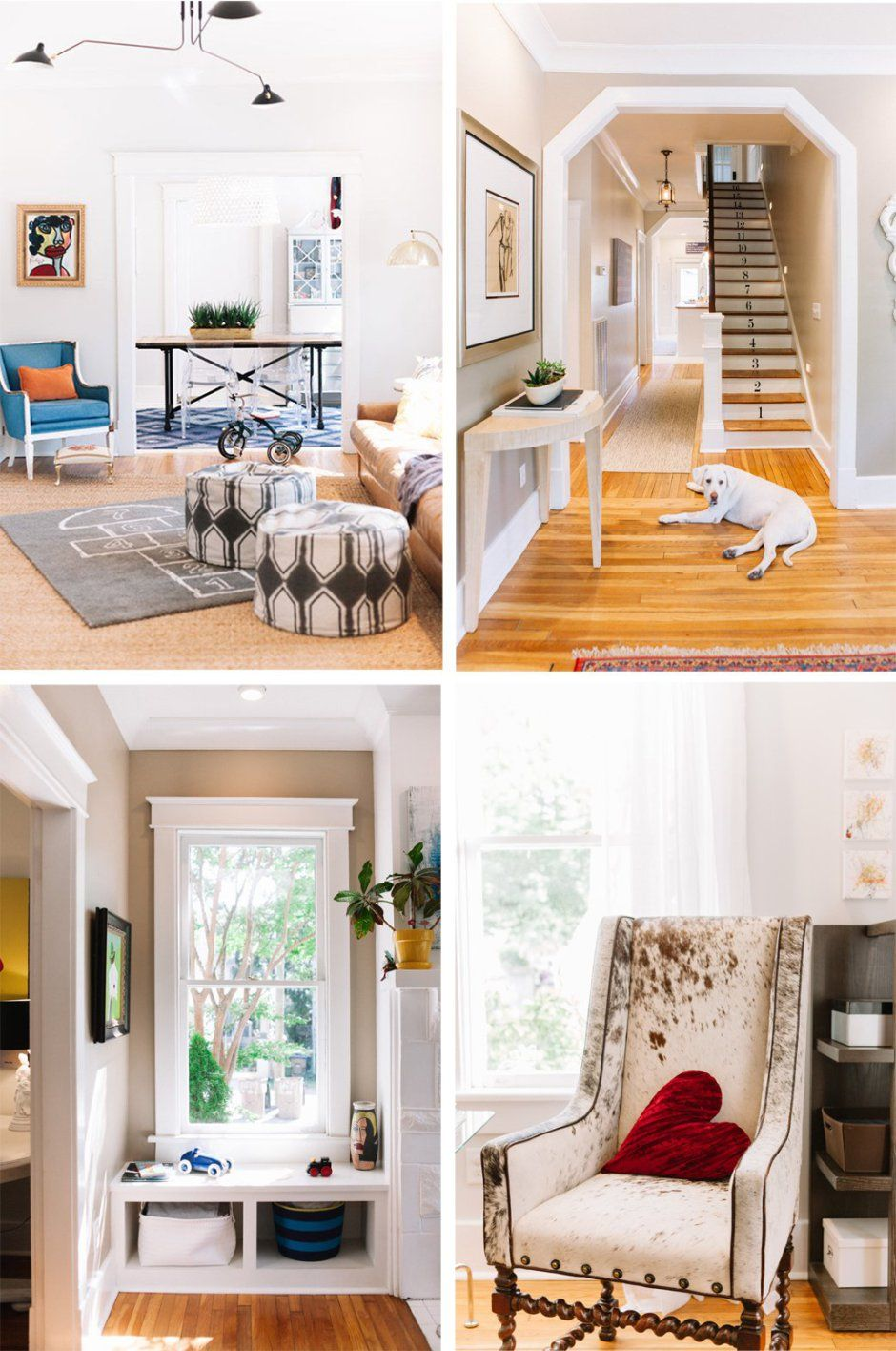 home tour colorful chic family home in nashville virtual home rh in pinterest com