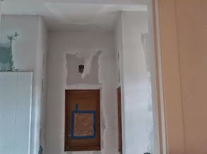 smaller bathroom drywall and spackle drywall and joint compound rh pinterest com