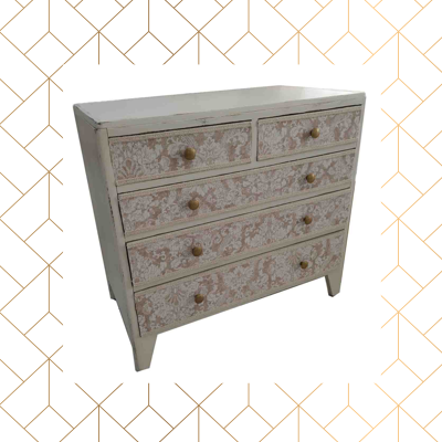 Old Chest Of Drawers Renovated In Vintage Style Custom Made Furniture Furniture Home Furnishings