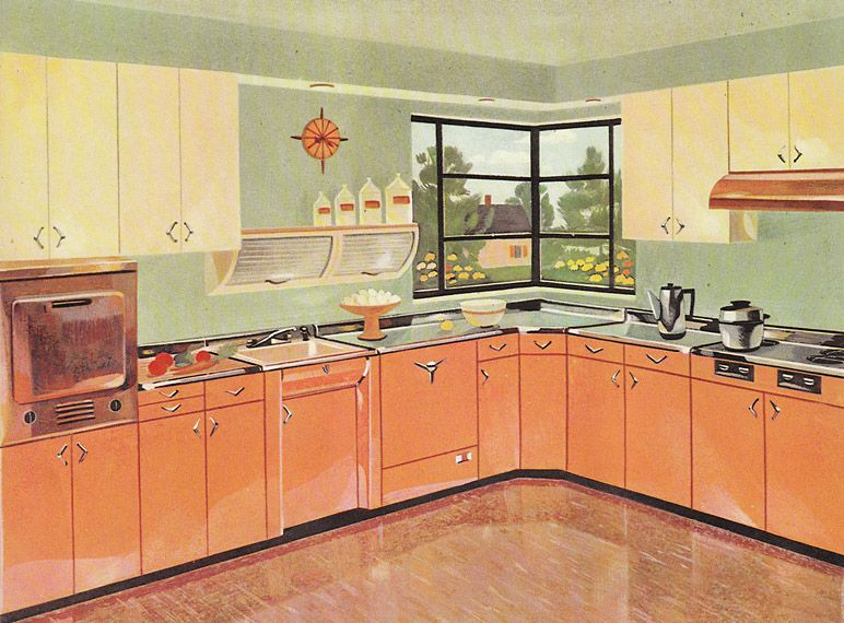 13 Pages Of Youngstown Metal Kitchen Cabinets Retro Renovation