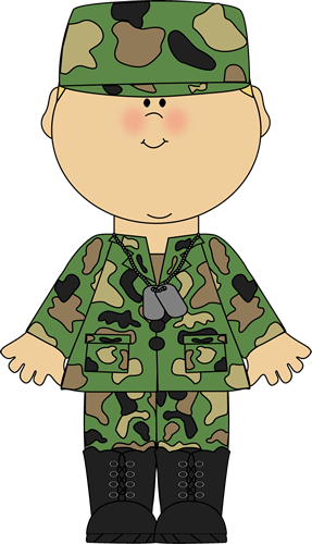 boy in army uniform clip art boy in army uniform image painting rh pinterest com Balloon Clip Art Borders Pink Balloons