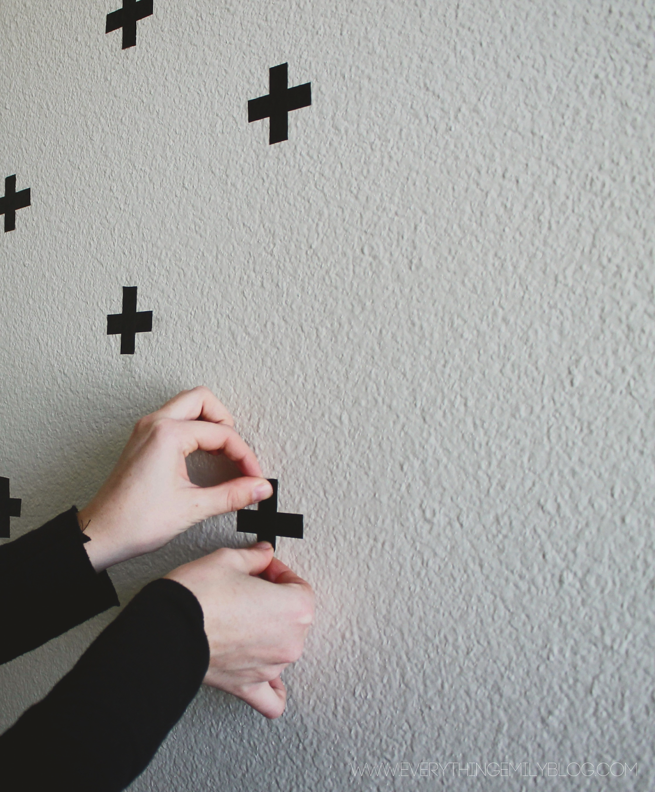 Everything Emily: DIY Washi Tape Wall Decals... | craft ideas ...