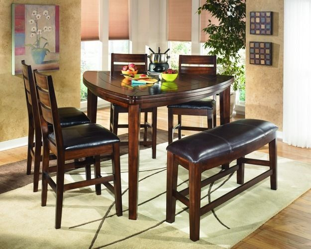 triangle counter height table larchmont decor dining table rh pinterest com