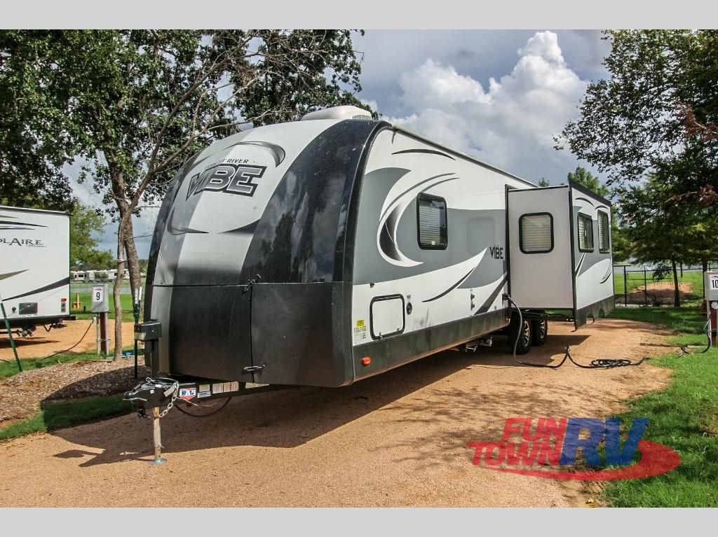 New 2019 Forest River Rv Vibe 268rks Travel Trailer At Fun Town Rv
