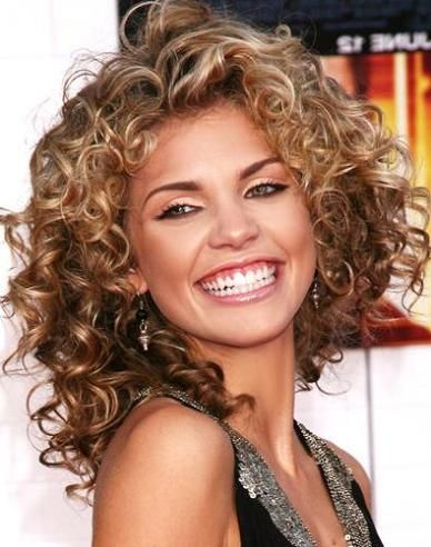 Amazing 1000 Images About Curly Hair On Pinterest Shoulder Length Curly Short Hairstyles Gunalazisus