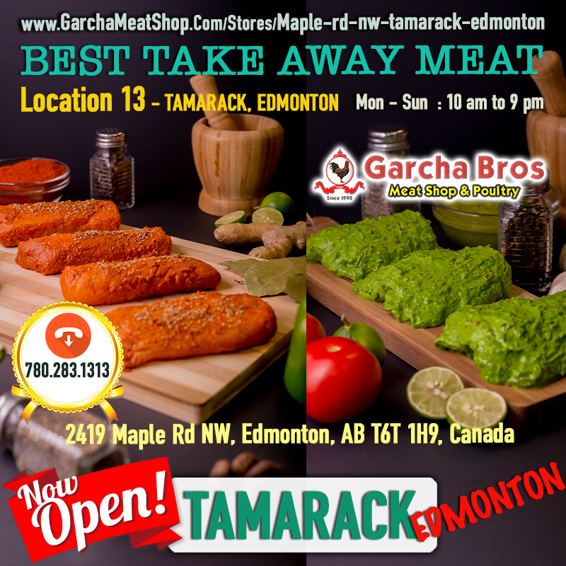 Garcha Meat Shop 2419 Maple Rd NW, Edmonton, AB T6T 1H9