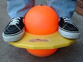 The pogoball....how to break and arm in the 80's lol