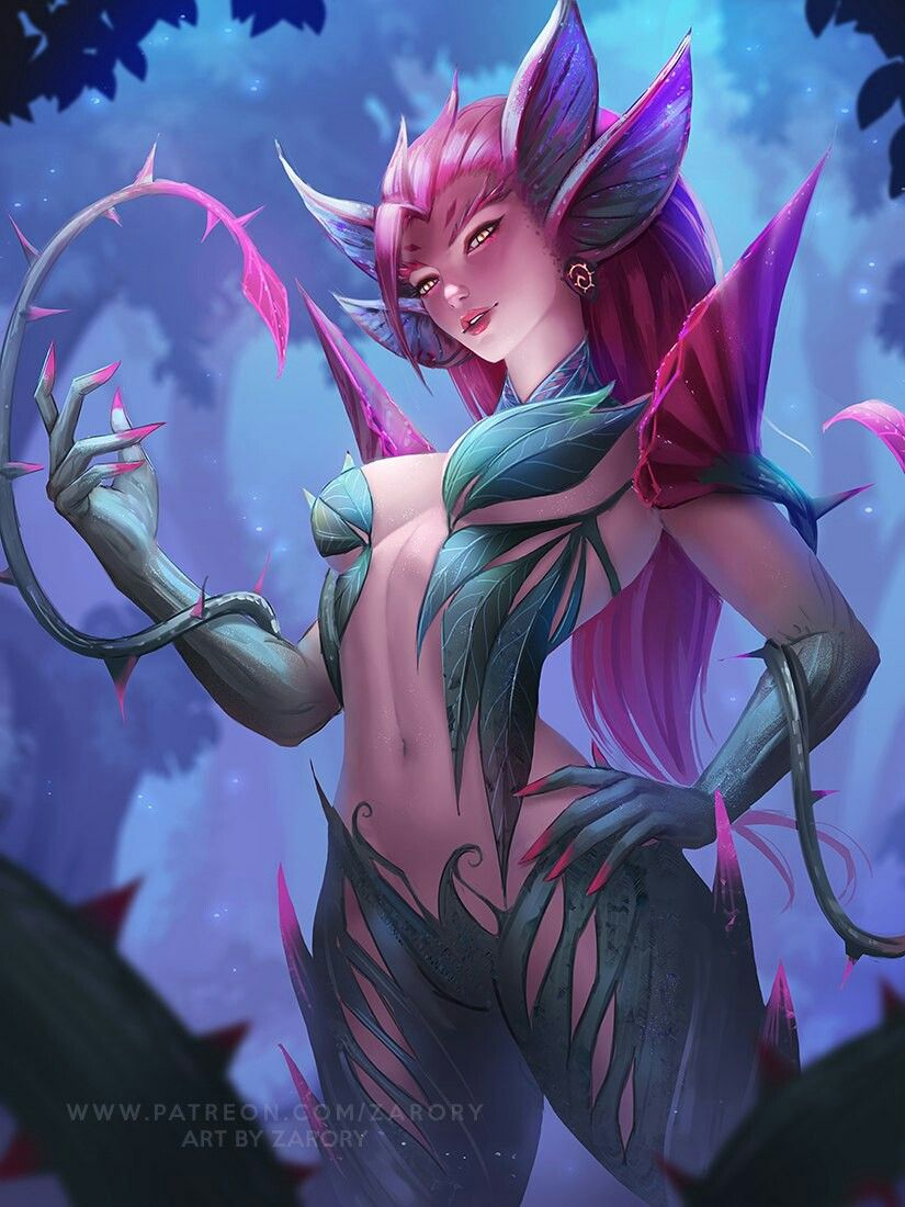 Zyra | Зайра @League of Legends | Лига Легенд #LoL #ЛоЛ