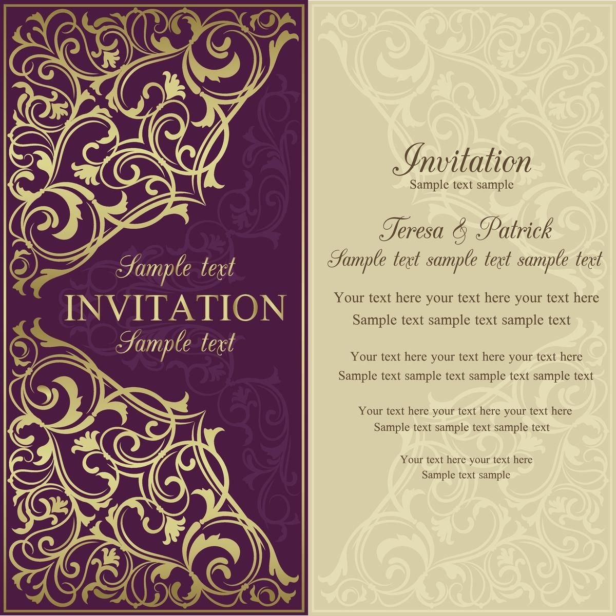 Invitation Letter Sample Penlighten in 2020 Wedding