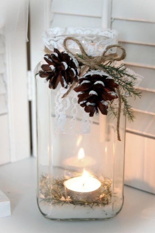 Winter Deko Ideen Zu Hause Aussen Fensterdeko A Xmas Idea