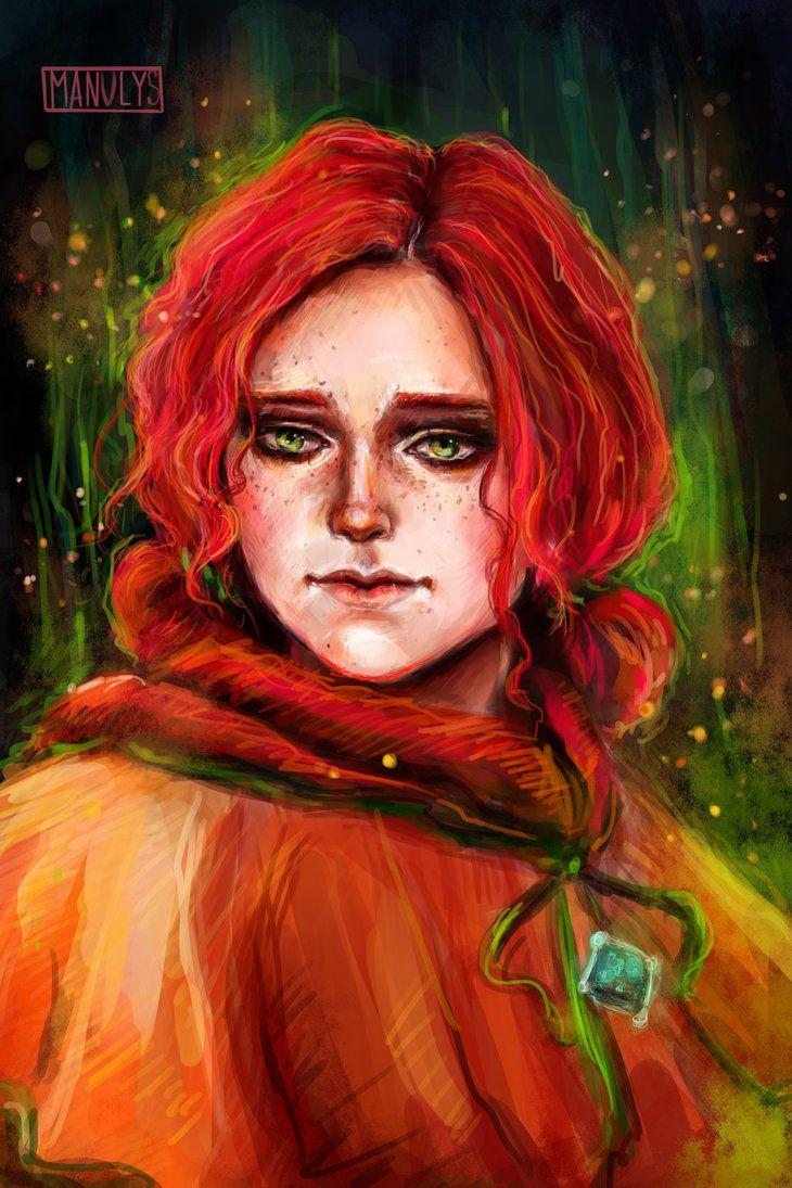 Triss Merigold By Manulys Triss Merigold Deviantart The Witcher