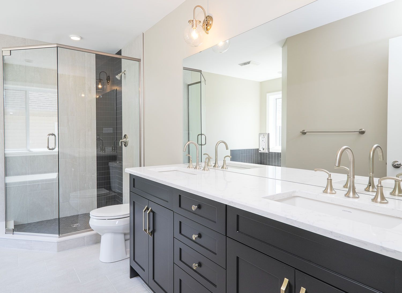 En-suite design, the Yorkville #newhome #Ensuite #design #bright ...