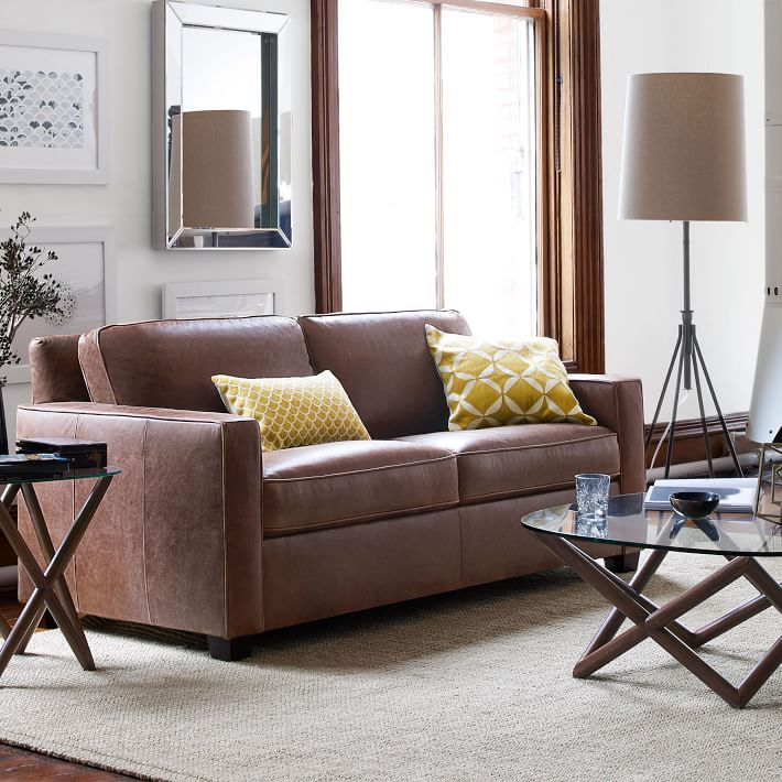 Leather sofas in living rooms u2013 Magical