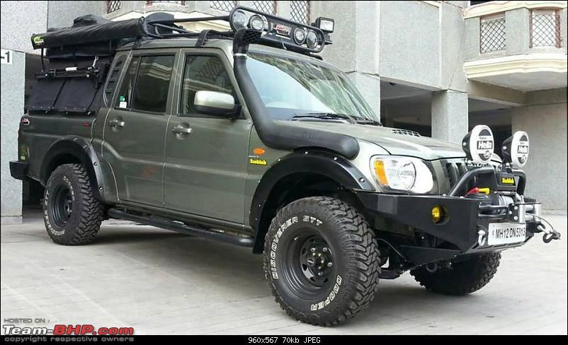 Interesting Modified Scorpio Getaway For Gul Panag Expedition