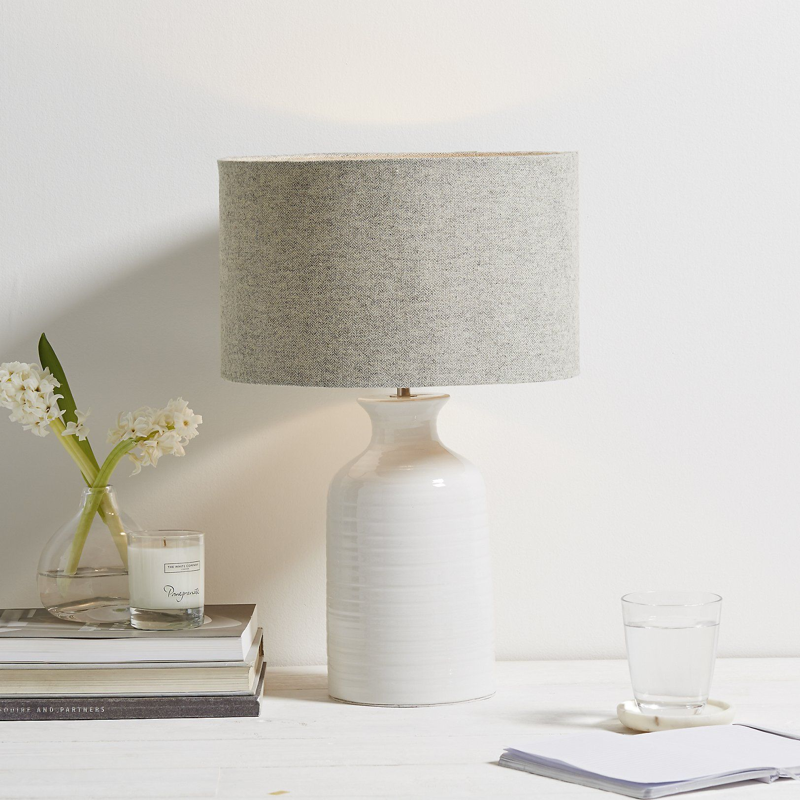Superieur Small Ceramic Bottle Lamp | Table Lamps | Home Accessories | Home | The  White Company