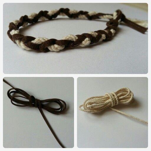 DIY men navy bracelet    by Julio Monjaraz Materials: •Rope
