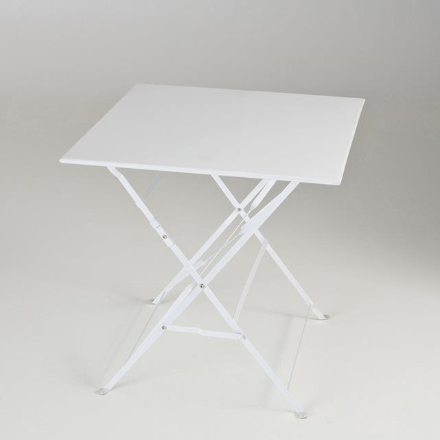 Table pliante, métal, 2 modèles La Redoute Interieurs | La Redoute ...