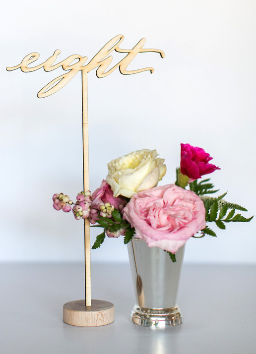 laser cut table numbers table name and number ideas wedding rh pinterest com