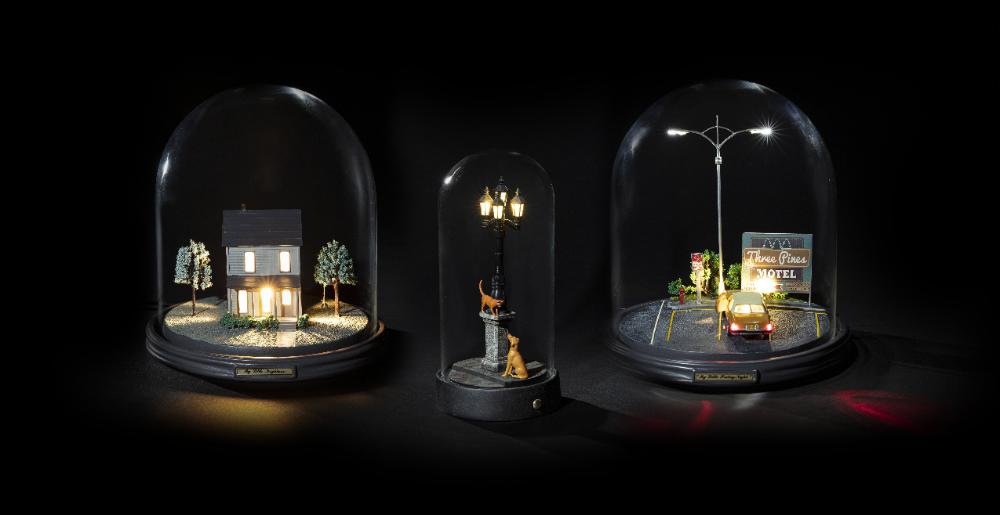 Lampe De Table My Little Evening Seletti Noir Made In Design In 2020