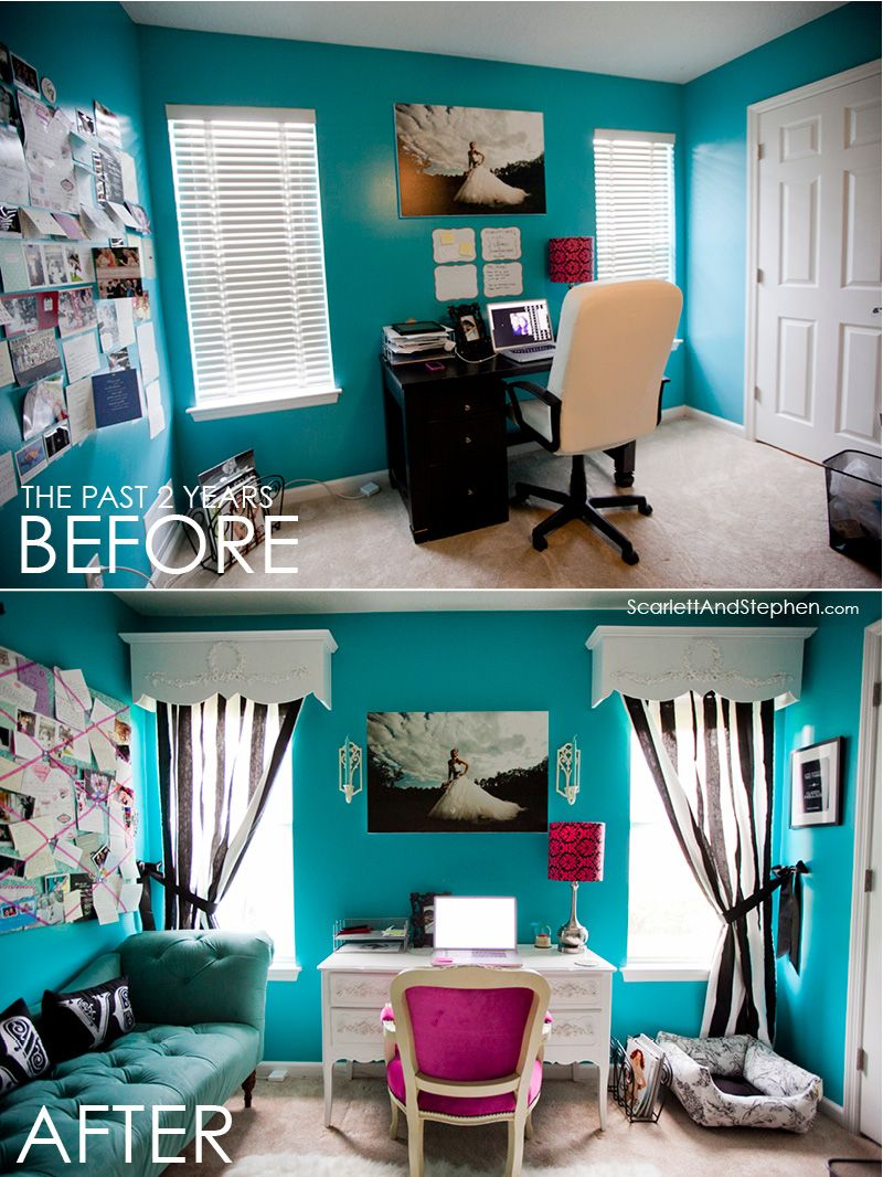 cute office makeover decor in 2019 guest bedroom office office rh pinterest com