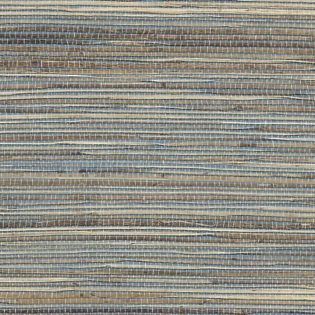 Grasscloth Grass Roots 3372 in Susan's Sky Blue