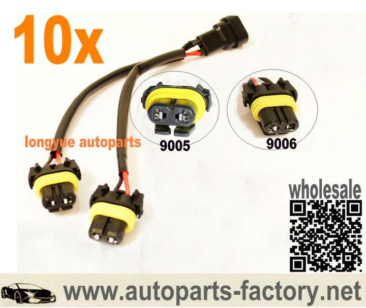 long yue 9005 9006 high beam splitter wires for quad dual projector rh pinterest com