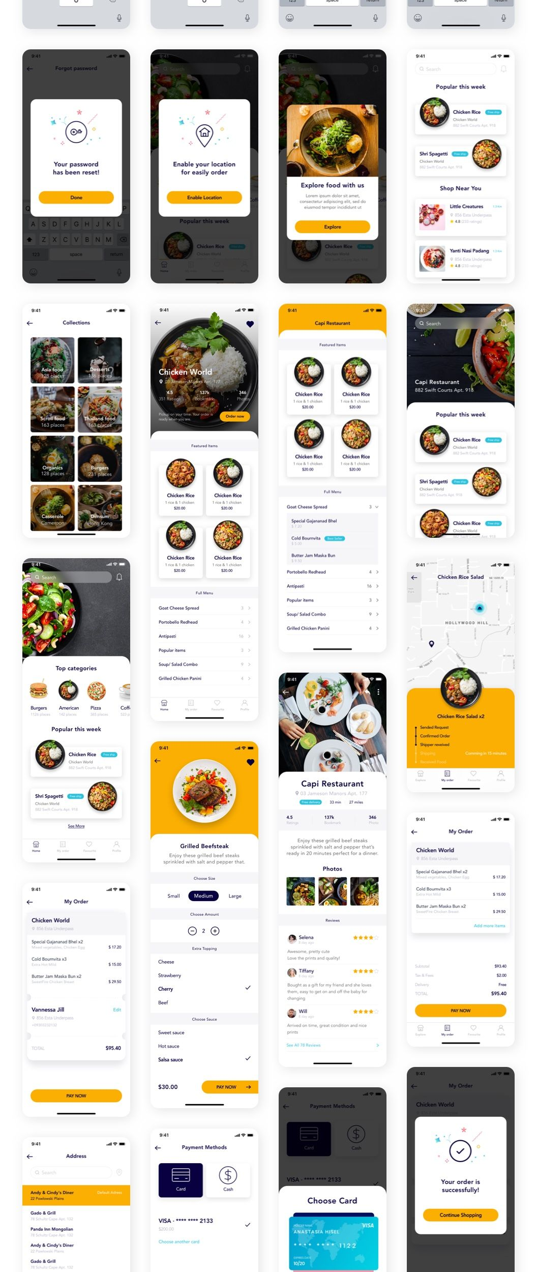 Foode - Food ordering mobile app