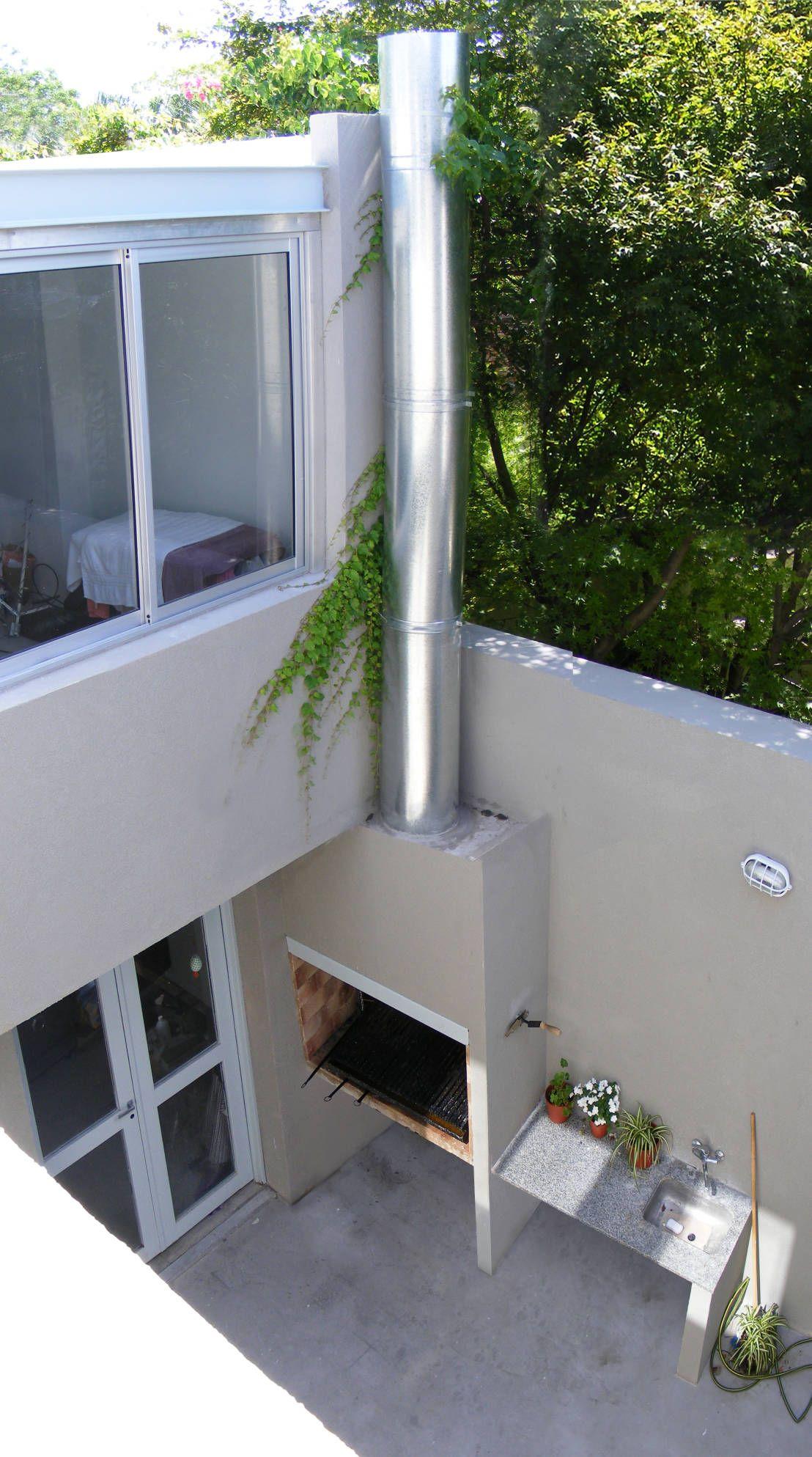 La excelente remodelaci n de un departamento jard n for Patios y jardines modernos