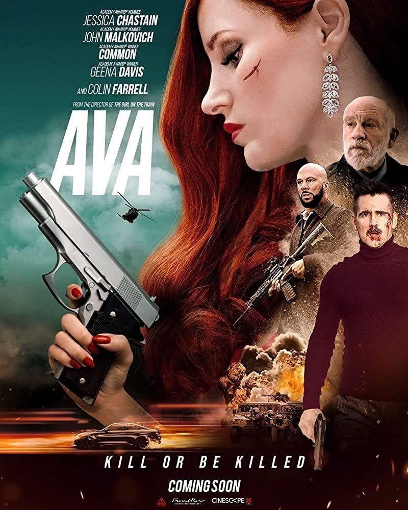 Ava 2020 Jessica Chastain Geena Davis Movie Of The Week