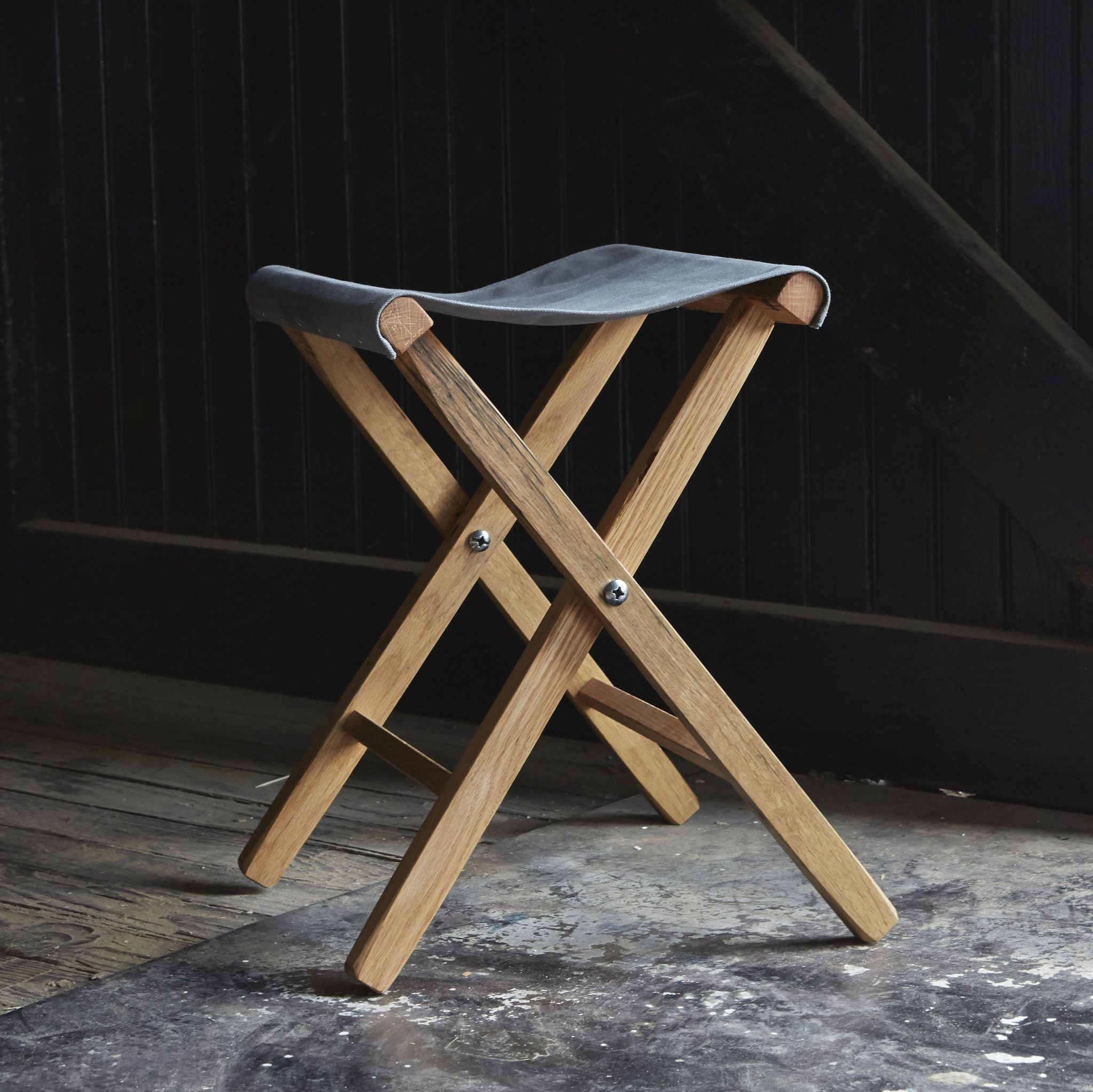 Our Lewis and Clark Expedition Stool is inspired by campfire