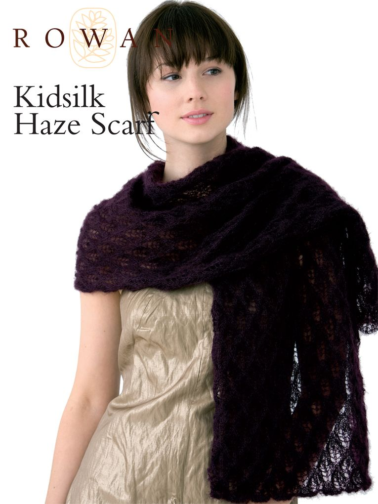 Kidsilk Haze Scarf By Marie Wallin Free Knitted Pattern With