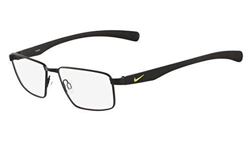 NIKE Eyeglasses 4256 001 Satin Black 52MM ** You can find out more details at the link of the image.