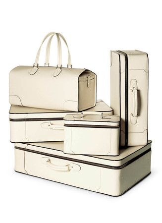 C 25 - Options of Luxury -white VALEXTRA luggage