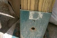 How To Build A Fence On Top Of A Concrete Slab Hunker Concrete Porch Building A Pergola Patio Railing