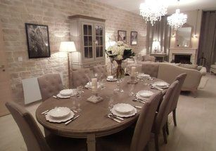 Le Salon Salle A Manger M6 In 2018 Country Cottage Pinterest
