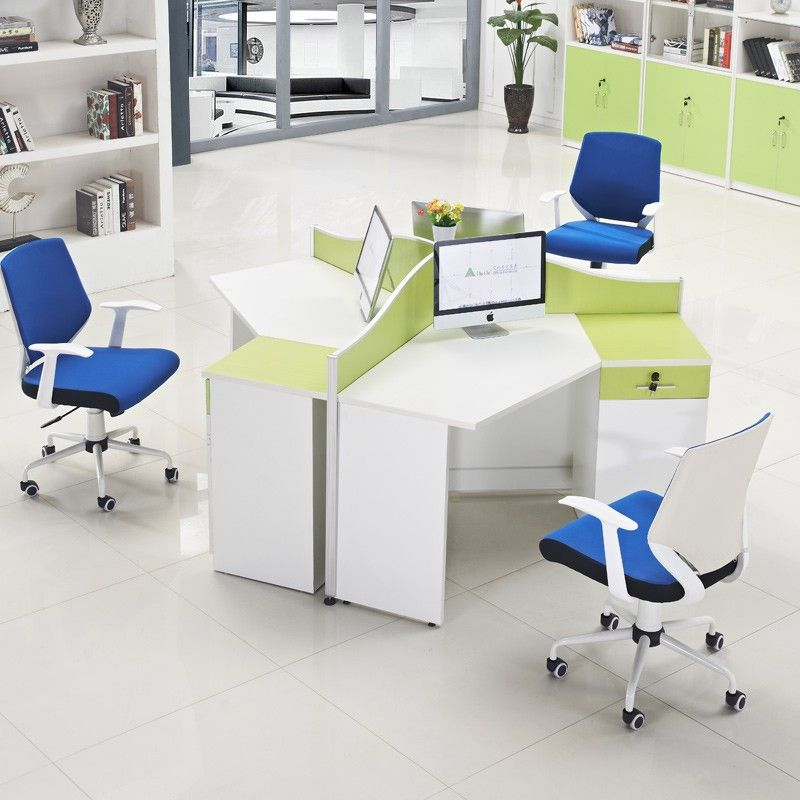 Space Saving Built In Office Furniture In Corners: 2016 Top Design Space Saving Office Furniture Workstation