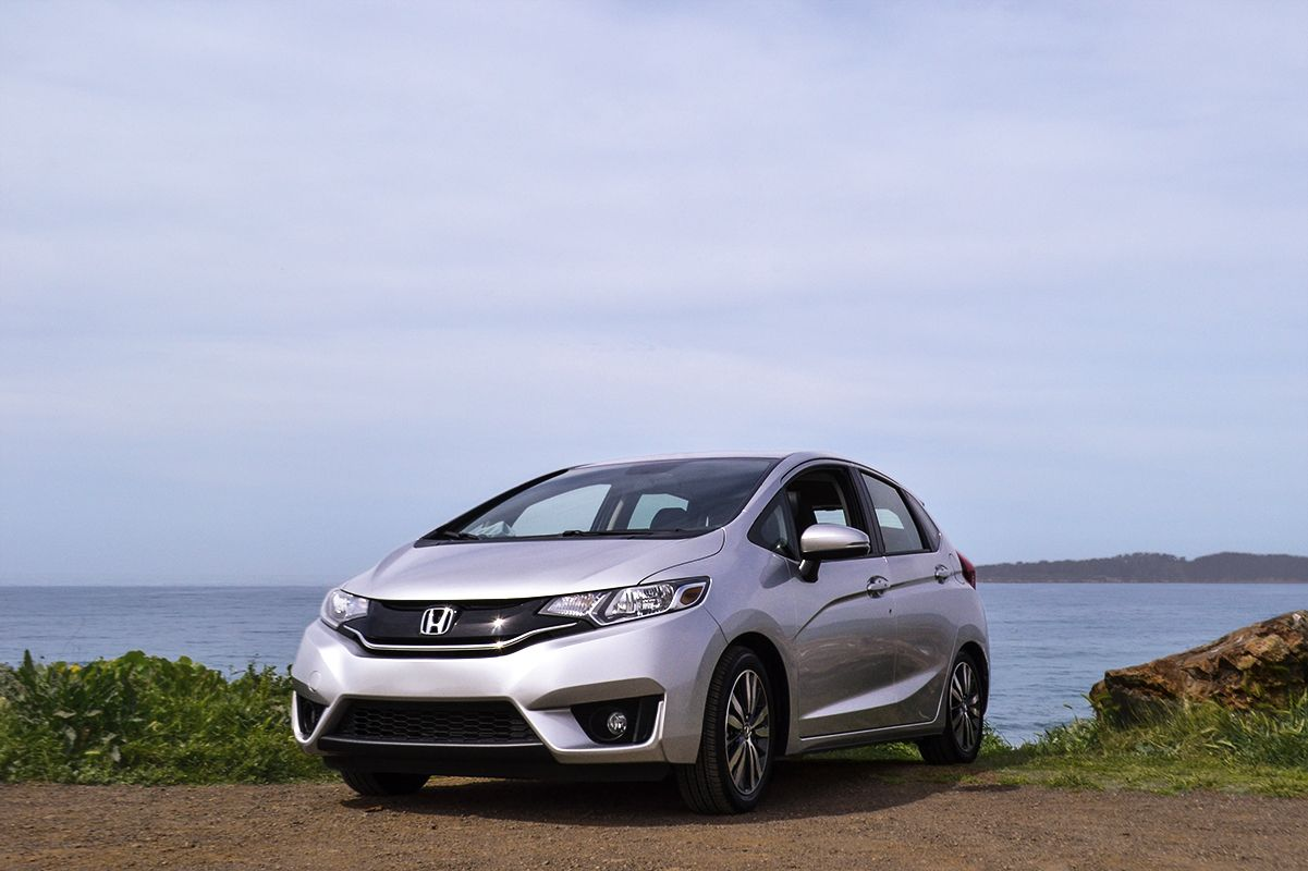 Add A Honda Fit To Any Photo And You Ve Got Yourself A Masterpiece Not That The Coastline Isn T Breathtaking On Its Honda Dealership Honda Fit Honda