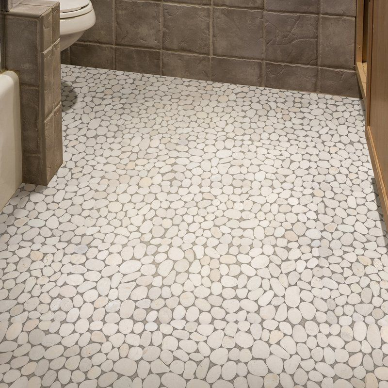 12 X Natural Stone Pebble Tile